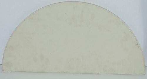 Unbranded Flat Baking Stone Ceramic Color White Shape Half Moon