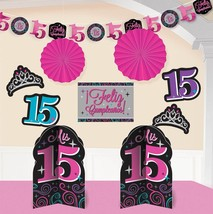 Elegant Mis Quince Años Room Decorating Kit Birthday Party Decorations (... - $15.19