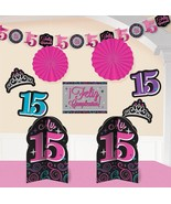 Elegant Mis Quince Años Room Decorating Kit Birthday Party Decorations (... - $15.19