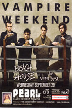 VAMPIRE WEEKEND @ The PEARL, Palms Concert Theater Vegas Ad - $1.95