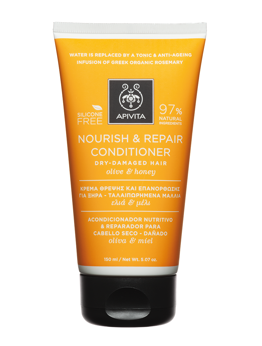 Apivita Nourish and Repair Hair Conditioner 150ml image 2