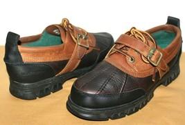 ❤️POLO SPORT Ralph Lauren Waterproof Leather Buckle Oxford 10 EXCELLENT!... - $46.54