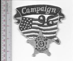 US Secret Service USSS US Presidential 1996 Campaign Agent Service Patch grey  - $11.99