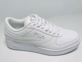 Men's Fila White A-LOW Fashion Sneakers  - $69.00