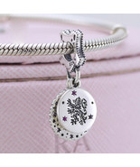 925 Sterling Silver Gryffindor Dangle Pendant Charm Bead - $21.99