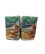 2 packs Pampers Splashers Baby Diapers Medium 20-33 lb 11ct each (22ct t... - $19.79