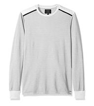 $59 GUESS Men's Mason Jacquared Knit, True White Multi, Size S - $34.64