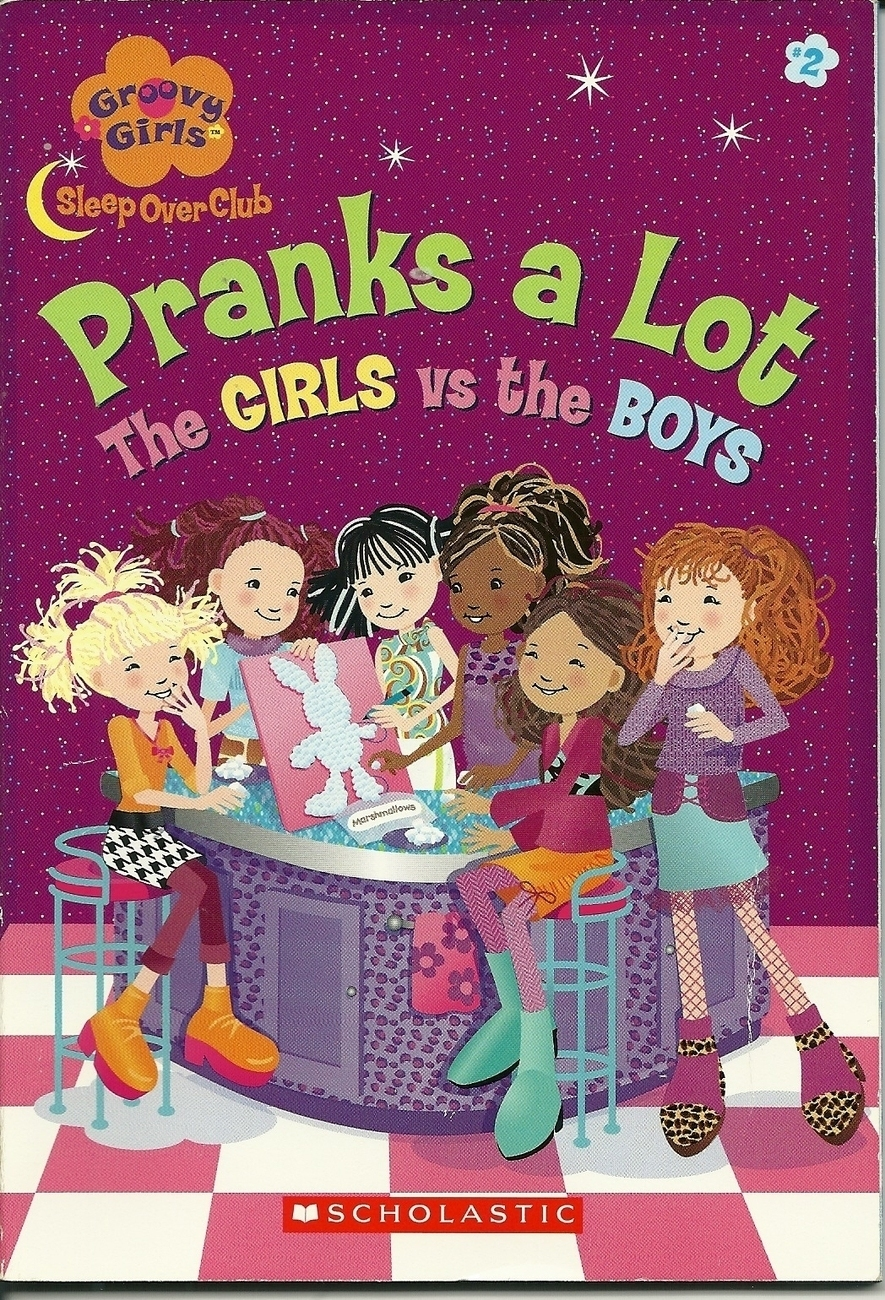 Pranks A Lot The Girls VS The Boys Softcover Book 2004 Scholastic