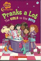 Pranks A Lot The Girls VS The Boys Softcover Book 2004 Scholastic - $1.99