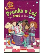 Pranks A Lot The Girls VS The Boys Softcover Bo... - $1.99