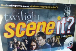 Twilight Movie Scene it Trivia Game with DVD  - $19.99