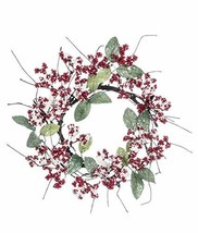 "Sullivans Artificial Frosted Berries & Leaves Wreath 10"" - $37.58"