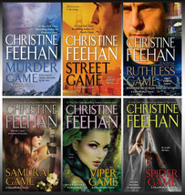 GHOSTWALKER Series by Christine Feehan Mass Market Paperback Set Books 7... - $39.99