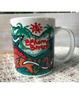Bahama Breeze Caribbean Rest. & Grill Advertising Coffee Mug Cup Seahorse Palms - $16.17