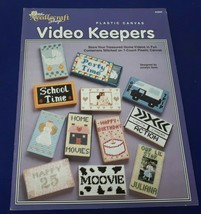 The Needlecraft Shop 943928 VIDEO KEEPERS Plastic Canvas Book - $7.09