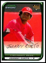 2008 Bowman Chrome Refractors #217 Johnny Cueto NM-MT RC Cincinnati Reds - $3.99