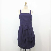 6 - Marc by Marc Jacobs Purple Ruched Detail Sleeveless Short Dress 1009AB - $37.00