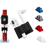 AirPods Silicone Protective Holder Apple Watch Band Shockproof Anti Lost... - $6.99