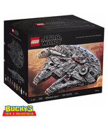 LEGO Star Wars Millennium Falcon Ultimate Collector's Series - 7541 piec... - $4,949.95