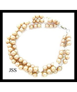 Jss gold sea shell bracelet thumbtall