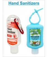 Hand Sanitizers Coconut Lime And Sanitizer With Clip Kills 99% Germs-2 Pack - $6.95