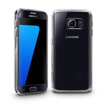 Galaxy S7 Crystal Clear Case Rubber Gel Shock Proof Silicone Cover Shamo's - $5.67