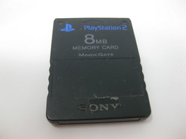 Memory Card 8MB MagicGate Black Sony SCPH-10020 for Playstation 2 PS2 Co... - $11.22 CAD