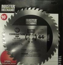 "Master Mechanic 117689 10"" x 44 Tooth Combination / Rip Circular Saw Blade - $4.46"