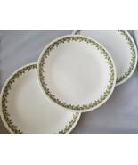 Corelle Corning Spring Blossom Green Floral Dinner Plates Set of 3 Dinin... - $14.11