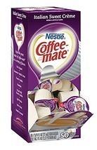 Coffee-mate Coffee Creamer, Italian Sweet Creme Liquid Singles, 50 Count... - $25.51