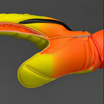 NIKE GK SPYNE PRO GOALKEEPER GLOVES CITRUS/VOLT SIZE 8.5 NEW $80 (PGS223-810) image 2