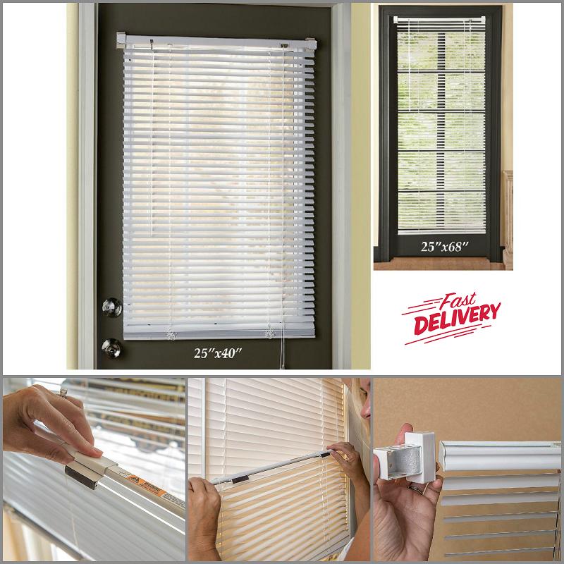 Magnetic Blind For Steel Door Window Vinyl Mini Blind