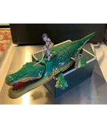 Alligator, Tin Wind-up Alligator Toy By Schylling - $94.05