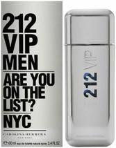 212 VIP by Carolina Herrera, 3.4 oz EDT Spray for Men - $69.99