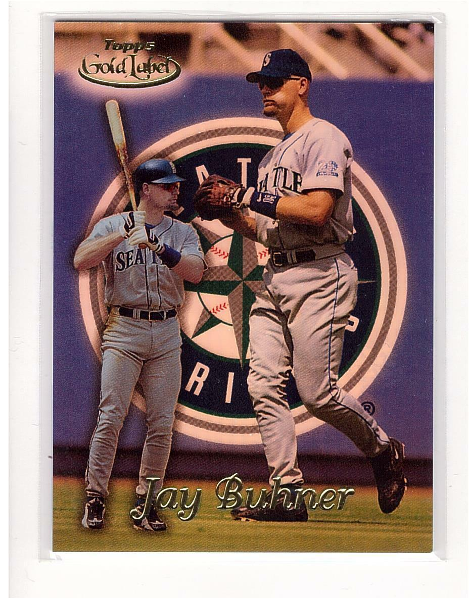 1999 Topps Gold Label #41 Jay Buhner Seattle Mariners Collectible Baseball Card
