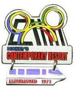 Contemporary Monorai Dangle  WDW  Resort Authentic Disney  pin - $14.99
