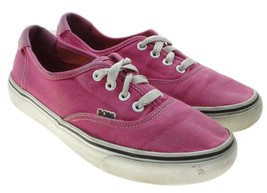 Skechers Womens Pink Canvas Classic Retro Style Fashion Sneakers Size 7 ... - $16.82