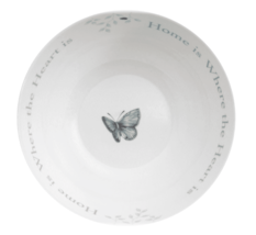 Lenox Butterfly Meadow Serving Salad Bowl Home is Where The Heart Is NEW image 4