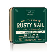 Scottish Fine Soaps Rusty Nail in a Tin 100g 3.5oz, Imported From Scotland - $13.54