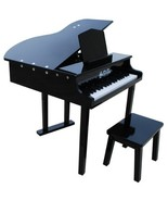Concert Grand Piano with Matching Bench - Color Black - $211.31
