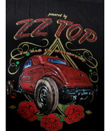 T-Shirt concert Powered by ZZ TOP US TOUR 2014 Im bad Im Nationwide red Car - $39.95