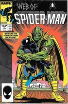 Web of Spider-Man Comic Book #25 Marvel Comics 1987 NEAR MINT NEW UNREAD - $3.99