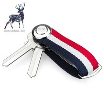 Key Holder Organizer Smart Key Wallet EDC Gear Keychain Famous Designer ... - $23.87
