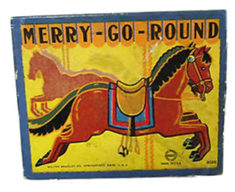 An item in the Toys & Hobbies category: 1910 Merry-Go-Round Game - Milton Bradley