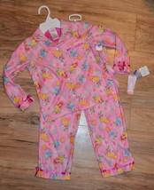 Disney Princess Shirt & Pants 2 Piece Pajamas Set ~ Bell, Cinderella, Au... - $12.19
