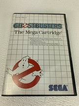 Ghostbusters Mega Cartridge Sega Master System Complete In Box Tested Working - $24.99