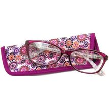 Foster Grant eyesential Women's Gwennie Reading Glasses, Pink +1.75 - $15.99