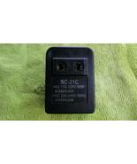Step Up 110V AC  to 220V AC Power Travel Converter  - $6.19