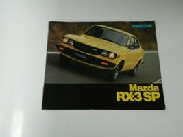 1977 Mazda RX-3 SP Sales Brochure, the original dealership catalog - $22.50