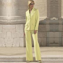 Women's High Fashion Custom Work to Wear Blazer Jacket Pant Suit image 6